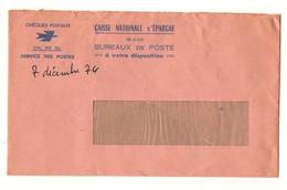 EnveloppeCCP Chèques Postaux Service Des Postes Caisse Nationale D'Epargne Avec Publicité ...écrivez Vite à L.P.A - Advertising