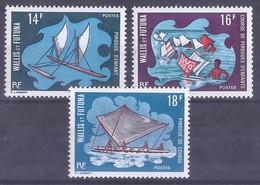 COLONIES  FRANÇAISES - Wallis & Futuna - N° 182 à 184** - Non Classés