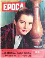 EPOCA 1958 N°386 JACQUELINE SASSARD+SORAYA+EDITH PIAF -  SC.4 - Unclassified