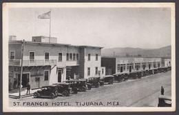 Mexico -  TIJUANA St. Francis Hotel - 1925 - Mexique