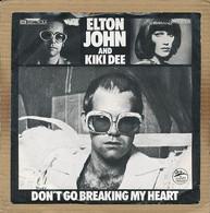 """7"""" Single, Elton John & Kiki Dee - Don't Go Breaking My Heart - Disco, Pop"""