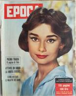 EPOCA 19586 N°317 AUDREY HEPBURN -  SC.4 - Unclassified