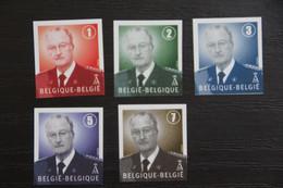 Jaar 2007: 3695/99 'Albert II' - Ongetand Met Nummer - Zeer Mooi! - No Dentado