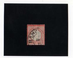 AIGLE EN RELIEF,  PETIT éCUSSON  1/2 G ORANGE  OBL N° 3a YVERT ET TELLIER  1872 - Oblitérés