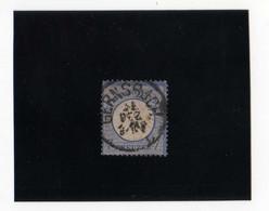 AIGLE EN RELIEF,  PETIT éCUSSON  7K BLEU  OBL N° 10 YVERT ET TELLIER  1872 - Oblitérés