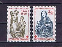 France, Frankreich 1983: Michel-Nr. 2420-2421C (2)  Obl., Used, Gestempelt, T. De Carnet, Booklet Stamps, Heftchenmarken - Gebraucht