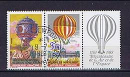 France, Frankreich 1983: Michel-Nr. 2387-2388 (1)  Obl., Used, Gestempelt - Usados