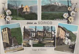1961 SORICO  SALUTI DA    COMO - Como