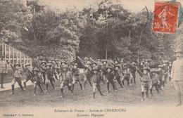 50  Cherbourg, Eclaireurs De France, Section De Cherbourg, Exercices Physiques - Cherbourg