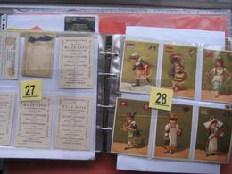 Album Ongeveer 500 Stuks, 1870-1920  Litho Chromos, Reklame Winkels OOST Vlaanderen : Aalst, Gent, Sint Niklaas +andere - Advertising