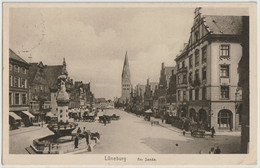 Ak Lüneburg, Am Sande 1924 - Lüneburg