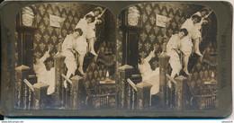 """Photo Stéréo : """"Miss Squires Select Boarding School..."""" - Impérial Séries (BP) - Photos Stéréoscopiques"""