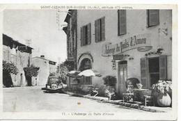 06-CPSM Saint Cézaire Sur Siagne,AUBERGE  Du PUITS D'AMON (*) - Altri Comuni