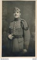 Carte-Photo : Portrait Militaire En Studio N°60 Sur Le Col - Par FESTAS à Besançon - 13.2.1923 - Besancon