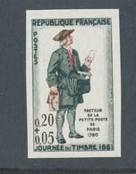 FRANCE - NON DENTELE N° 1285 NEUF** SANS CHARNIERE - COTE MINI : 30€ - 1961 - Non Dentellati