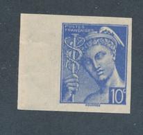 FRANCE - NON DENTELE N° 546 NEUF** SANS CHARNIERE AVEC BORD DE FEUILLE - COTE MINI : 10€ - 1942 - Ongetand