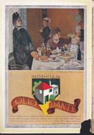 (pagine-pages)PUBBLICITA' OLIO DANTE  Le Vied'italia1937/05. - Other