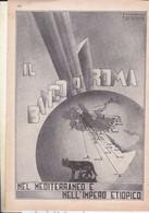 (pagine-pages)PUBBLICITA' BANCO DI ROMA  Le Vied'italia1937/05. - Other