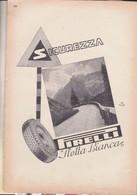 (pagine-pages)PUBBLICITA' PIRELLI  Le Vied'italia1937/05. - Other