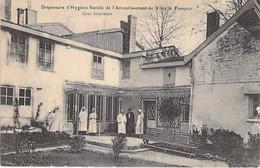 21 - VITRY Le FRANCOIS : Dispensaire ,d'Hygiène Sociale De L'Arrondissement : Cour Intérieure - CPA - Côte D'Or - Vitry-le-François