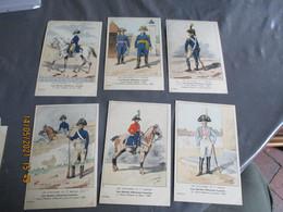 Serie 8 Carte N 40 , Les Uniformes De L Empire Gardes Honneur Locales Collection Bucquoy - Uniformen