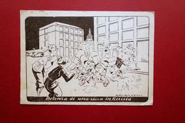 Cartolina Propaganda Antisovietica Potenza Di Una Cicca In Russia 1942 WW2 Rara - Andere