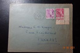 Lettre Annemasse-Annecy1938 - Bahnpost