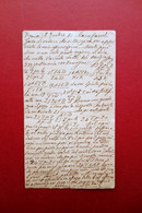 Autografo Serafino Dubois Scacchi Cartolina Partita Cassoli 1881 Mosse - Handtekening