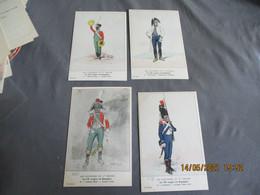 Les Uniformes De L Empire 16 Eme Leger En Espagne 18  Eme Serie  8 Carte Collection Bucquoy - Uniformen