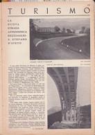 (pagine-pages)STRADA APPENNINICA REZZOAGLIO - S.STEFANO D'AVETO  Le Vied'italia1937/05. - Other