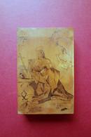 Lastra Legno Di Bosso Dipinta China Fine '700 Orginale Preparatoria Incisione(?) - Dibujos