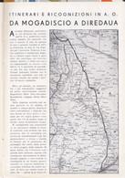 (pagine-pages)DA MOGADISCIO A DIREDAUA  Le Vied'italia1937/05. - Other