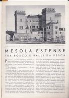 (pagine-pages)MESOLA ESTENSE  Le Vied'italia1937/05. - Other