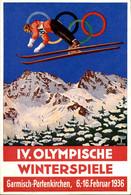 Berlin - Olympisches Dorf - 6.2.36 - Österreichischen Olympia Fond - Olympische Winterspiele - Garmisch-Partenkirchen - Zonder Classificatie