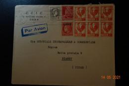 BELLE LETTRE POUR NIAMEY NIGER 1947 - Sin Clasificación