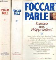 Foccart Parle - Entretiens Avec Philippe Gaillard, Tomes I Et II (2 Volumes) - Gaillard Philippe - 0 - Unclassified