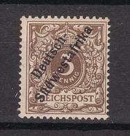 Deutsche Kolonie: Deutsch-Südwestafrika - 1897/99 - Michel Nr. 1 - Ungebr. - Colony: German South West Africa