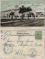 Brazil Bahia 1904 PostcardHospital Santa Casa In Salvador Editor J. Mello Nº 21 Sent To Starnberg Germany Posta Urbana - Salvador De Bahia