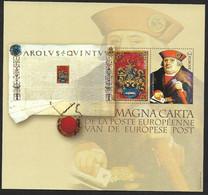 NA33 La Magna Carta De La Poste Européenne (Lot 1010) - Proyectos No Adoptados