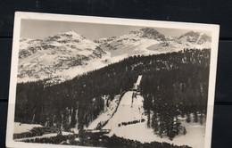 OLYMPICS  - SWITZERLAND -  PICTURUE POSTCARD OF SKI JUMP SLOPE - Inverno1948: St-Moritz