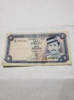 BRUNEI 1 Ringgit/Dollar , 1985. F/VF. - Brunei