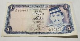 BRUNEI 1 Ringgit/Dollar , 1986. VF. - Brunei
