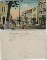 Brazil Bahia 1920s PostcardAvenida Sete (Mercês) Avenue In Salvador Editor Joaquim Ribeiro With Stamp Vovó 25 Réis - Salvador De Bahia