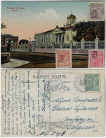 Brazil Bahia 1921 PostcardHospital Santa Izabel In Salvador Editor Joaquim Ribeiro Sent To Antwerpen Belgium Registered - Salvador De Bahia