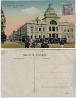 Brazil Bahia 1920s PostcardPalácio Da Aclamação Palace In Salvador Editor Joaquim Ribeiro Stamp Vovó 25 Réis - Salvador De Bahia
