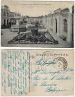 Brazil Bahia 1908 PostcardVila Operária Luiz TarquinioSquare In Salvador Editor Almeida Sent To La Louvière Belgium - Salvador De Bahia