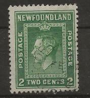 Newfoundland, 1938, SG 268, Used (Perf: 13 1/2) - 1908-1947