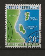 Tanganyika, 1964, SG 124, Used - Tanzania (1964-...)