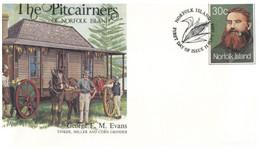 (PP 32) Australia Norfolk Island - FDC - The Pitcairners (3 Covers) - Norfolk Island