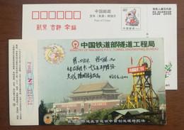 First Shallow Excavation Method In Beijing Metro Construction,CN99 Ministry Of Railways Tunnel Engineering Bureau PSC - Trenes